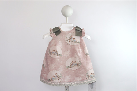 Pajaritos Dress by Rochy available at Baby Spain