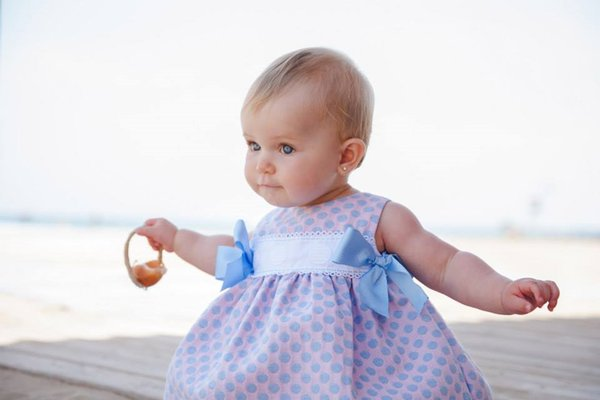 Dress available at Baby Spain