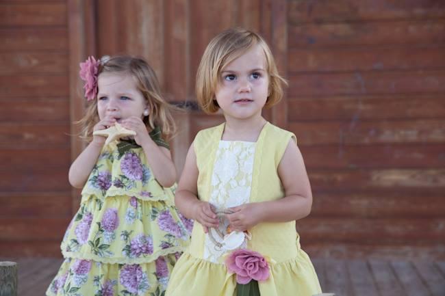 Hortensia dress available at Ninos Y Ninas UK