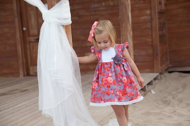 Roseton dress available at Baby Spain