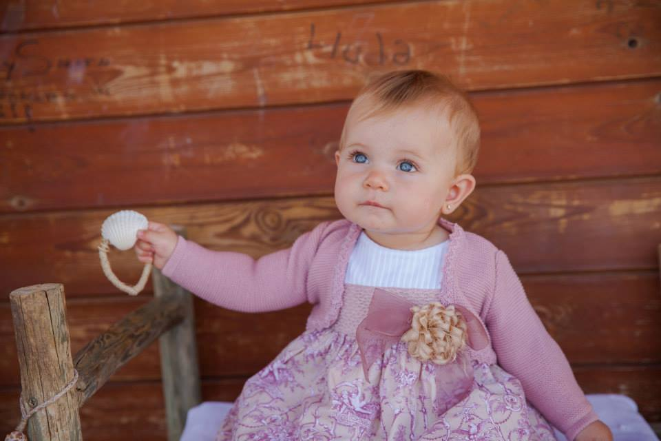 Porcelana dress available at Baby Spain