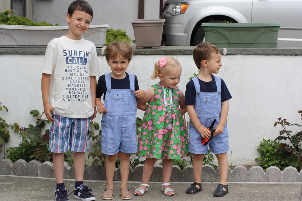 Gabriel, Adrian, Leyla & Leandro