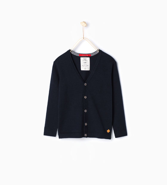 Zara Boy Cardigan