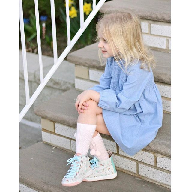 Latest post up on the blog. Link in bio👆🏻 Leyla wearing @maashoes available @just_shoes_for_kids and dress by @official_neckandneck
