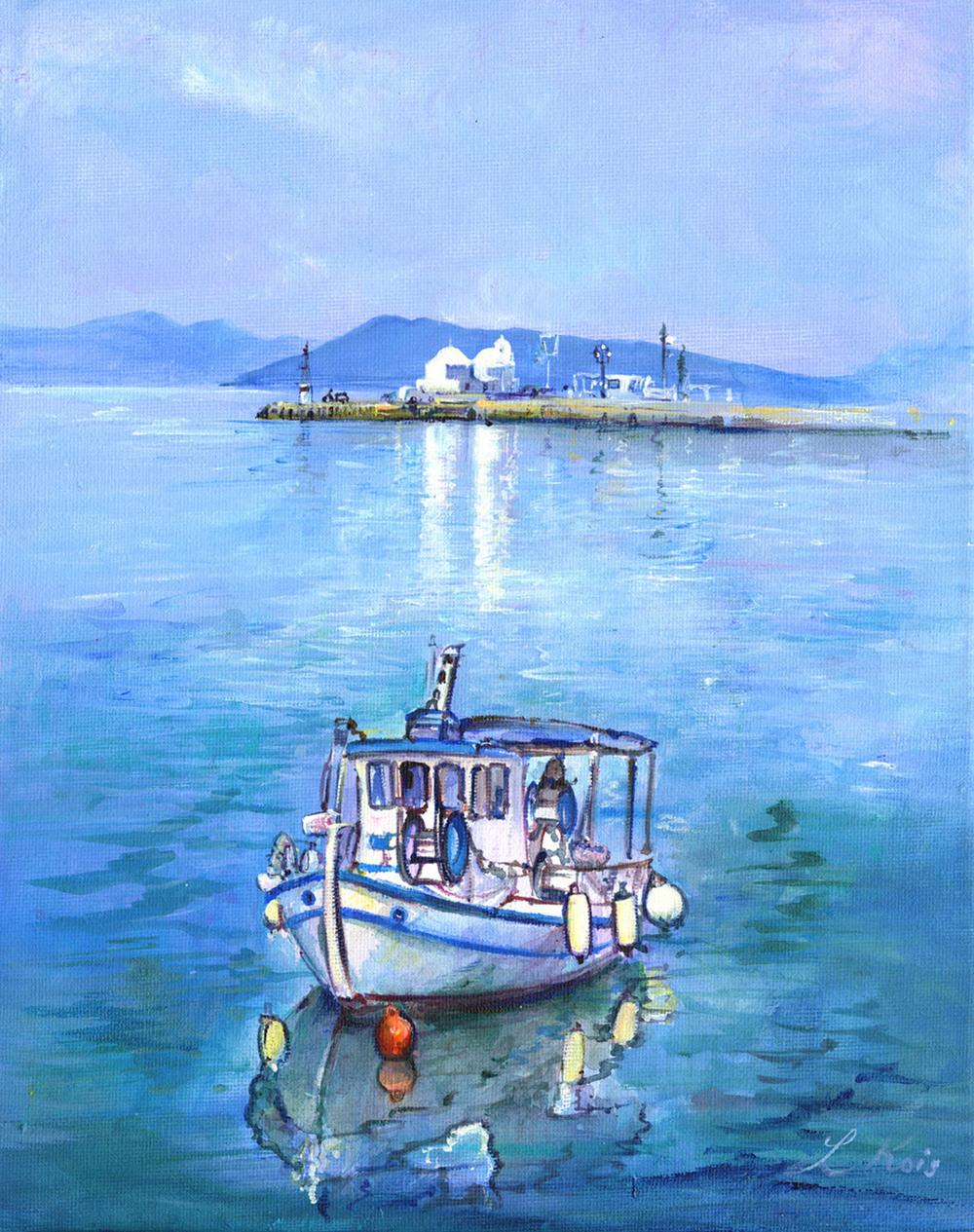 Aegina harbour, Greece