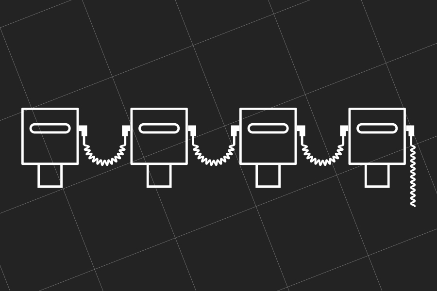 4 Hashtag Printers x Horizontal Layout