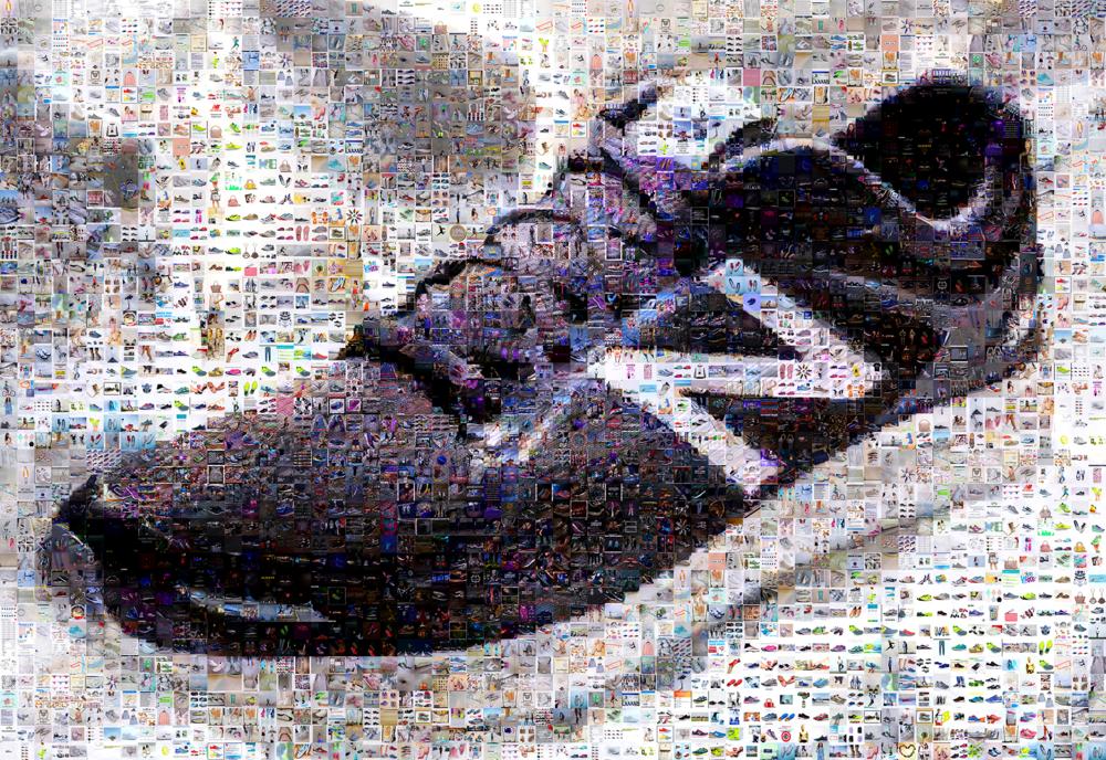"New Balance: Medium Canvas (8'6"" x 6')"
