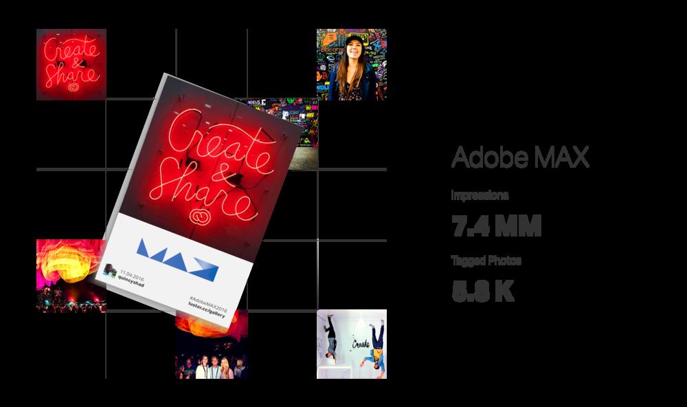 Luster Hashtag Mosaics: Adobe