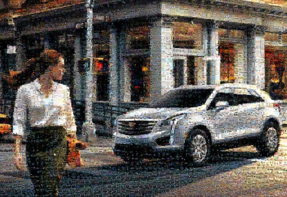 "Cadillac: Medium Canvas (8'6"" x 6')"
