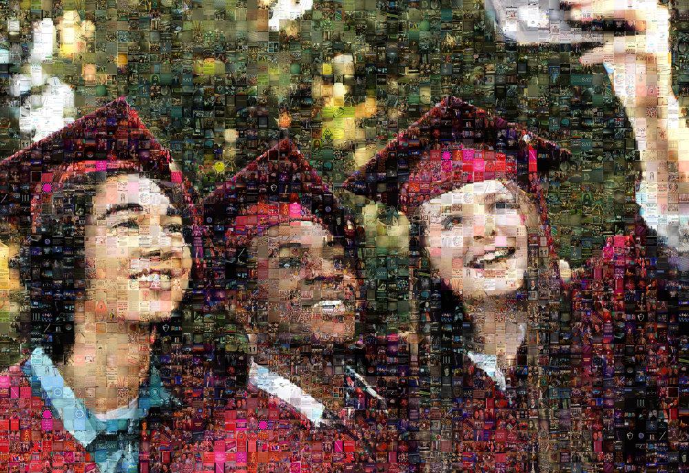 "Graduation: Medium Canvas (8'6"" x 6')"