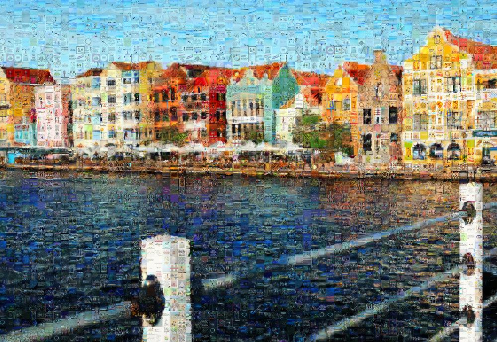 """Curacao: Medium Canvas (8'6"""" x 6')"""