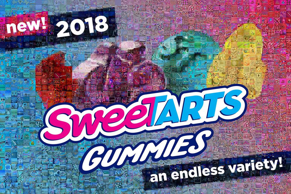 "SweatTarts: Small Canvas (6'4"" x 4'4"")"