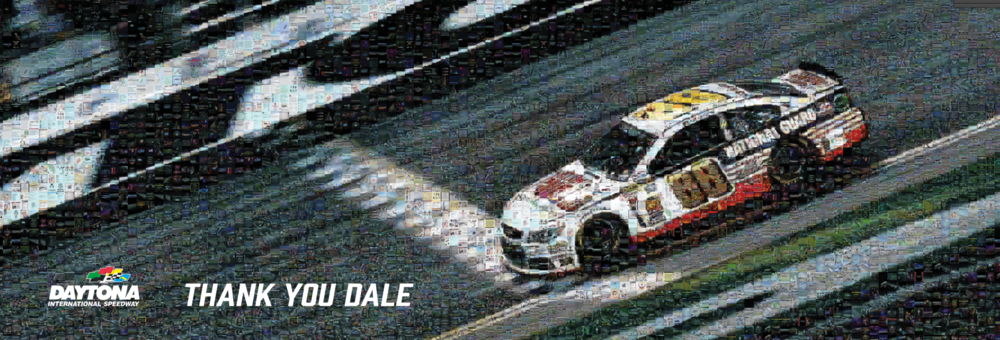 "Coke Zero 400 at Daytona International Speedway: XL Canvas (14'10"" x 5'10"")"
