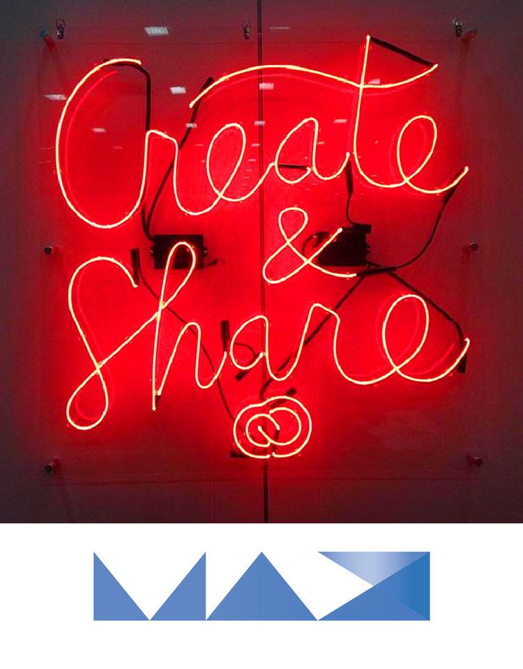 Luster Hashtag Mosaic Adobe MAX