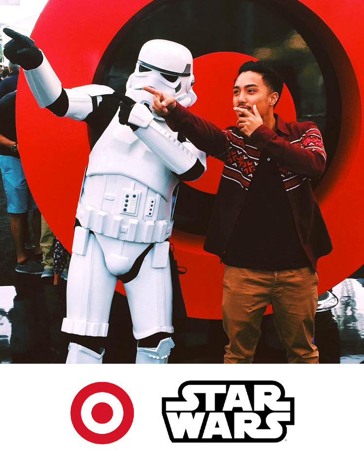Target Hashtag Mosaic for Star Wars the Force Awakens