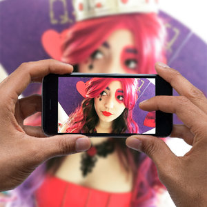 Luster Hashtag Printers - Snap a Photo