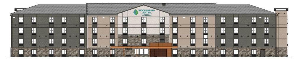 Renderings of WoodSpring Signature Suites in Cranberry, PA