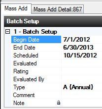 Setting Evaluation Defaults