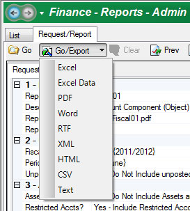Document Viewer Export Options