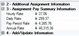 Assignment Payroll Summary