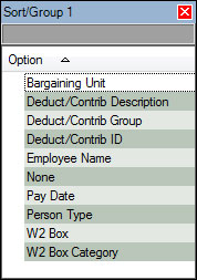 Pay34 Dynamic Sort Options Lookup