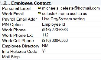 Employee Setup for Email ACH