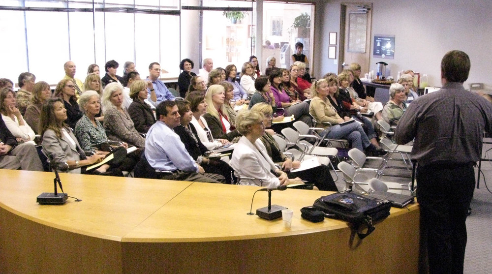 Sonoma COE kickoff meeting back in 2008
