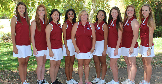 The 2015 Sierra College Women's Golf Team