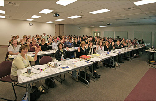 Here is the Placer COE HR group at one of their first trainings, back in 2007.