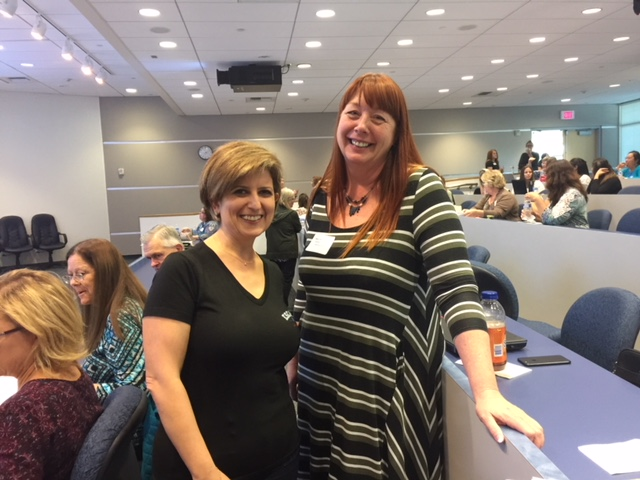 Arin Simonyan, Escape Finance PAT Manager, and Mary Crandall Plasencia, Ventura USD Purchasing Director.