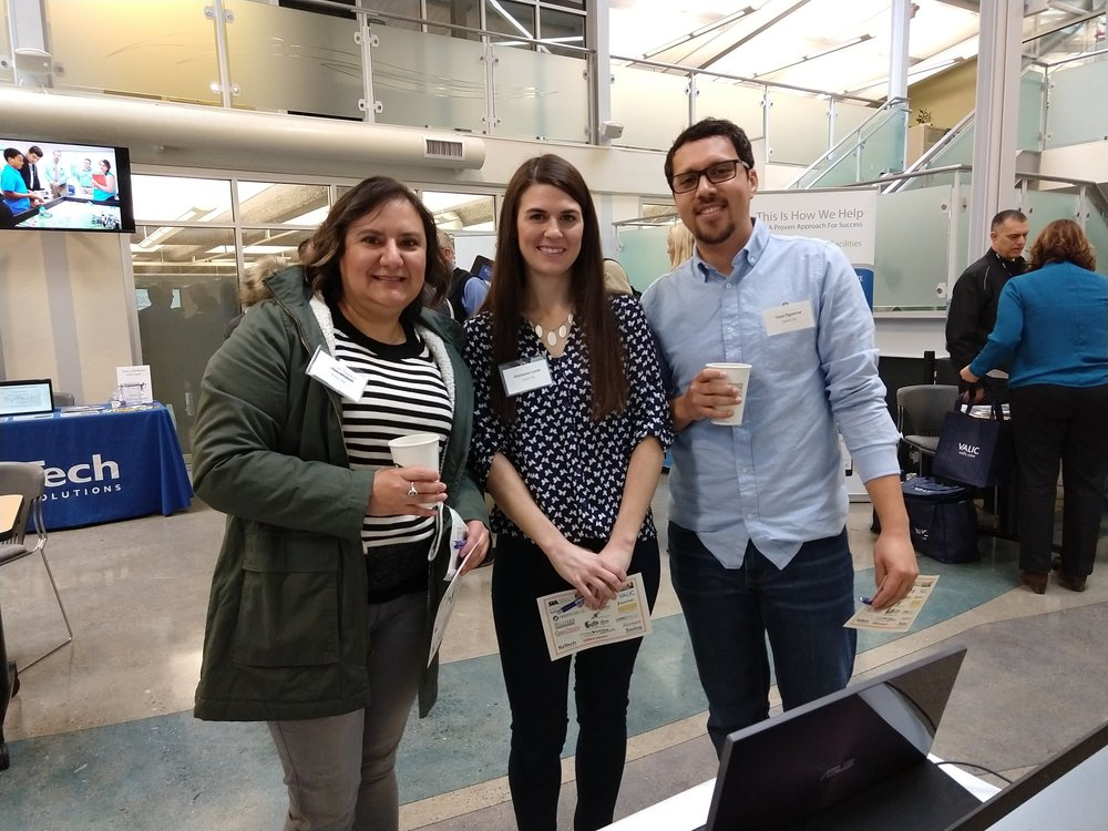Magdalena Navarro, Marianna Lamb and Yosa Figueroa from Sutter CSS