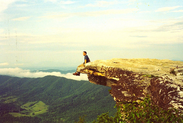 """McAfee Knob, Virginia"" by Ansaf Antman used with CC License 2.0"