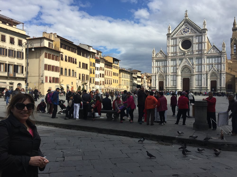 But first a quick stop with Elly Nedivi in Firenze for: