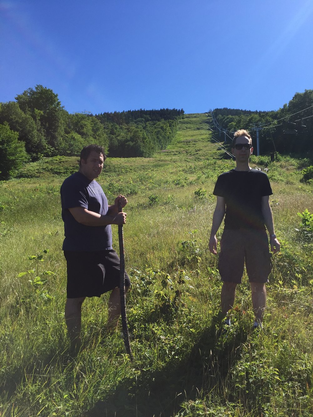 Hiking with Mike Halassa & Steve Flavell