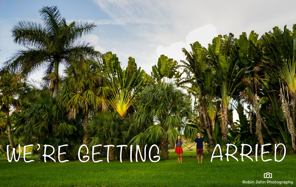 palm beach dreher park Engagement photography savannah & anton 1
