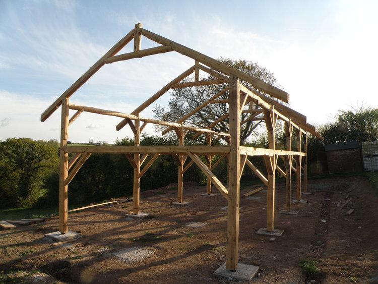 Simon S Barn Roundwood Design