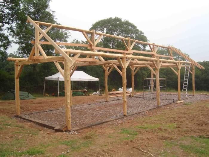 E L C Barn Roundwood Design