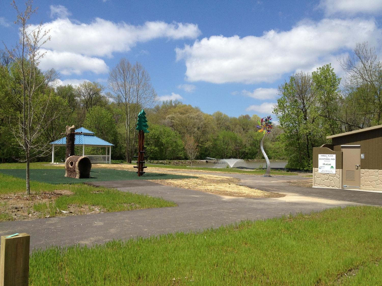 Kimball Plaza At Bicentennial Park Kaskaskia Engineering Group