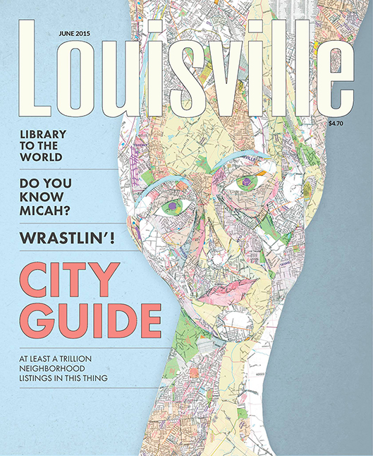 CLIENT:   Louisville Magazine.   Art Direction and Design  : Suki Anderson.
