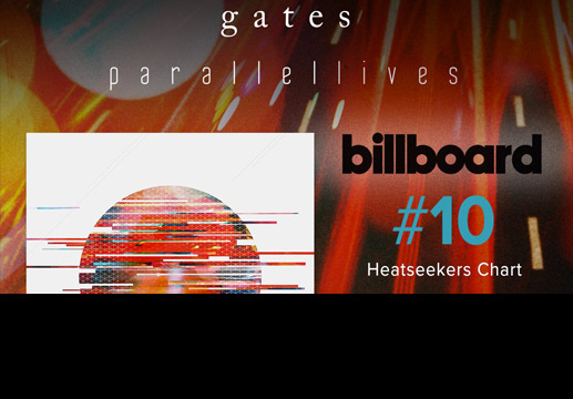 Copy of Gates hits #10 on Billboard Heatseakers!