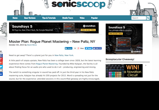 Copy of Sonic Scoop on Rogue Planet.