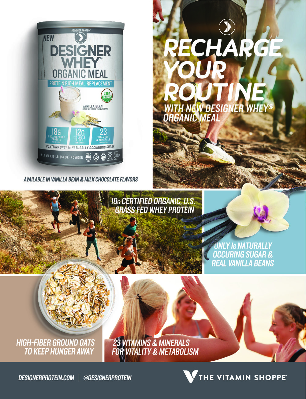 Ad designed for The Vitamin Shoppe's in-house magazine, Amazing Wellness - designed from concept to completion