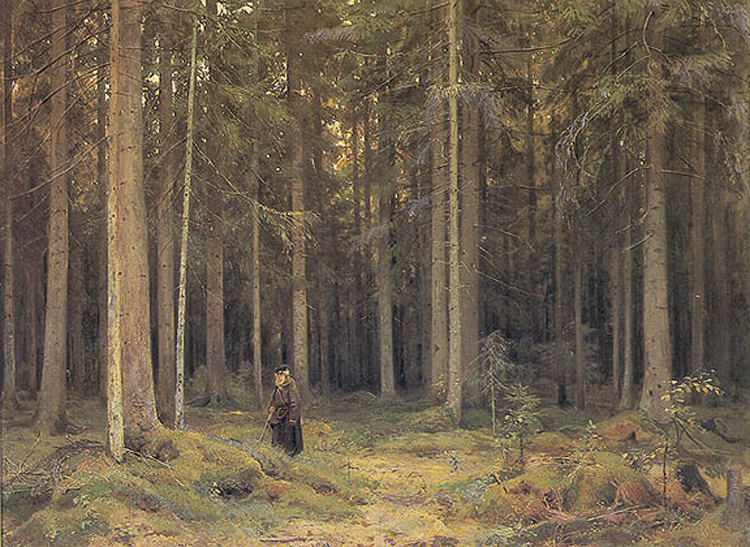 """The Forest of Countess Mordvinova"" 1891"""
