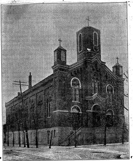 Most Holy trinity ca 1860
