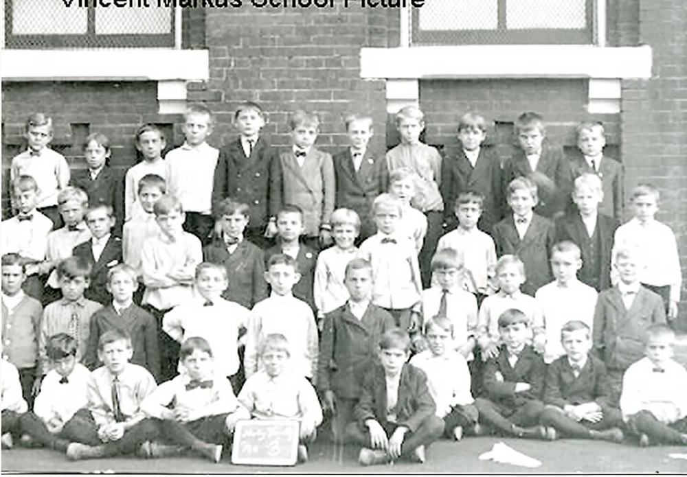 School Portrait  Originally, Holy Trinity had separate schools for the boys and the girls of the parish