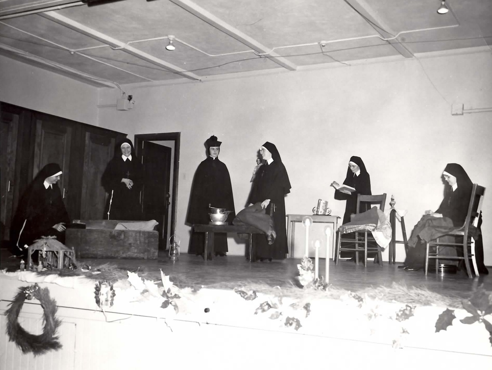 For much of Holy Trinity's history, nuns were an integral part of the parish, particularly in the school