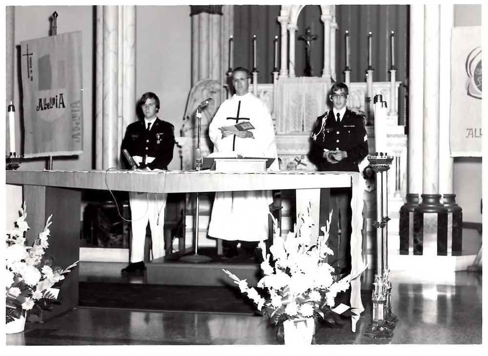 Honor guard mass