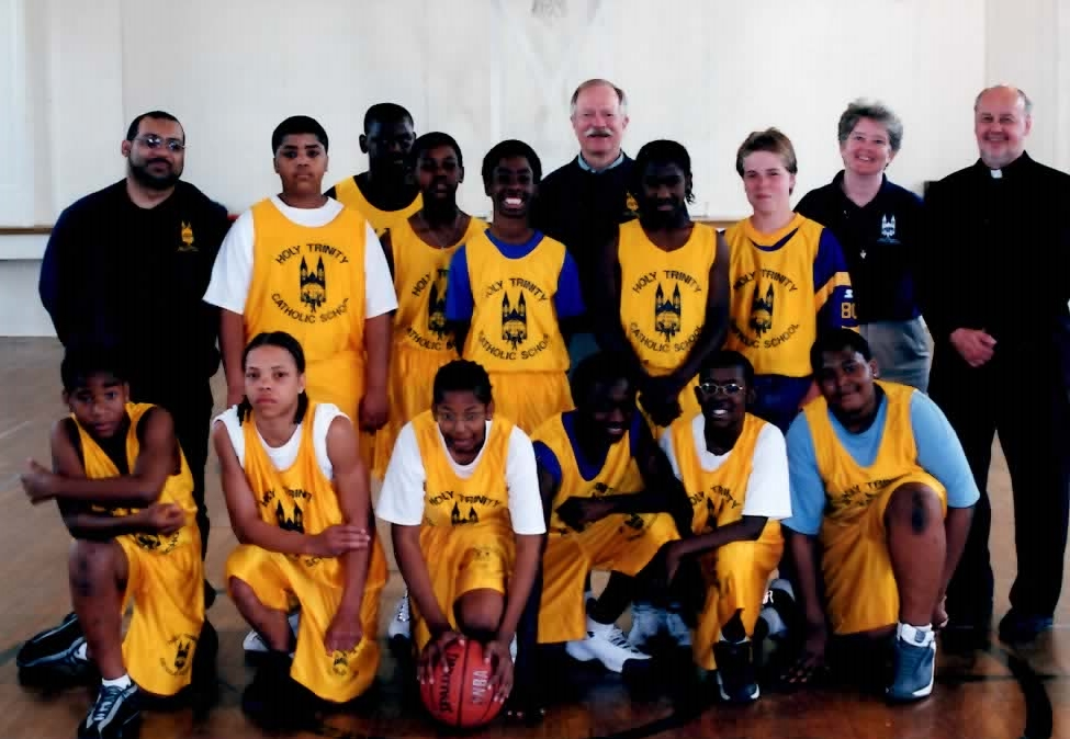 Most Holy Trinity basketball team