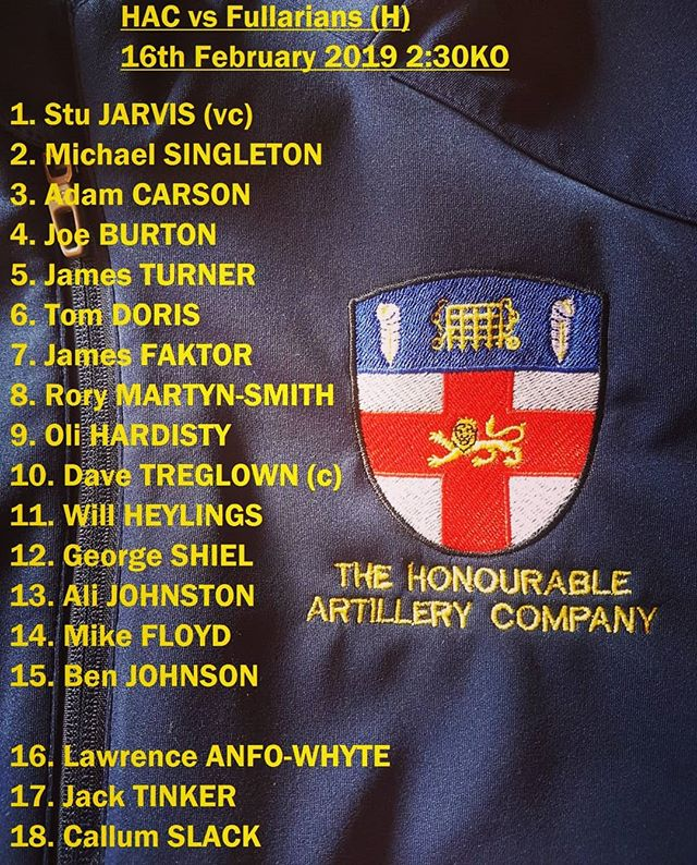 The 1s return for their first game at Armoury House this season against Fullarians on Saturday, whilst the 3s travel to Ealing to play their 2s. Unfortunately the 2s game has been cancelled. #HAC #armouryhouse #saturdaysarefortheboys