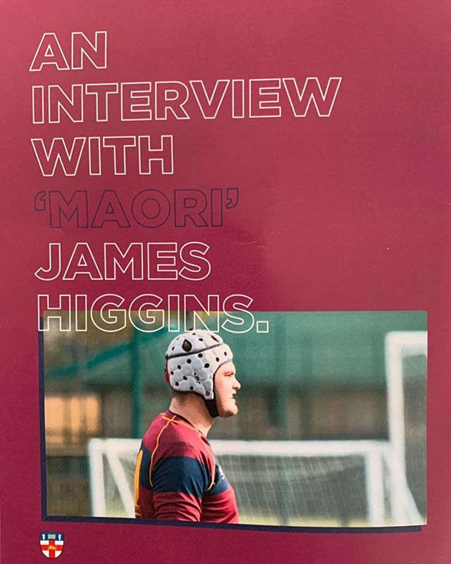 A feature in our match day programme yesterday provided an insight into the life of our very own Maori James